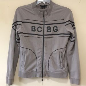 Vintage BCBG Maxazria Womens Track Jacket Size L